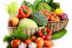Витамины в овощах