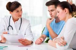 Обращение к врачу по поводу бесплодия