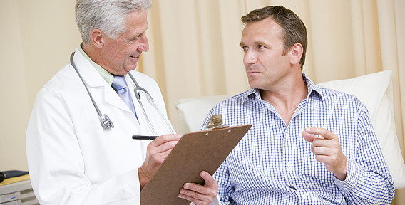 Как берут секрет предстательной железы у мужчин