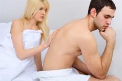 Нарушение потенции как симптом простатита