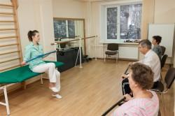 Занятия лечебной гимнастикой