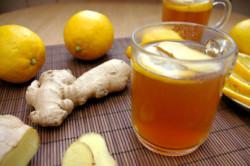 Имбирный чай с цитрусом