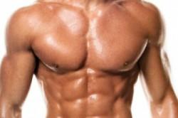 Накачанные мышцы тела