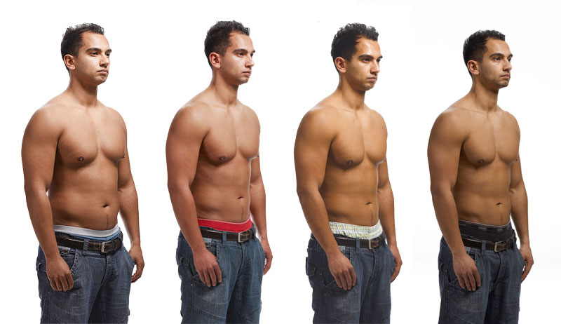 накачать пресс на животе жир