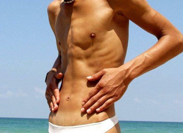 Начальная стадия анорексии у мужчины