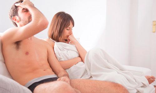 Непродолжительность полового акта