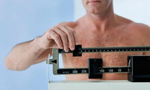 Снижение веса у мужчин