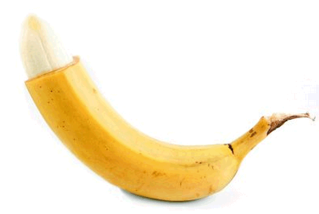 Обрезание на примере банана