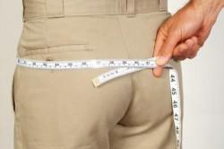 Измерение обхвата бедер