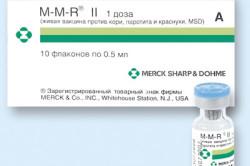Вакцина ММР II