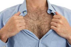 Волосяной покров на теле мужчины