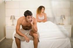 Нет семяизвержения во время секса