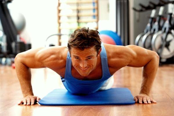 Комплекс физических упражнений для мужчин