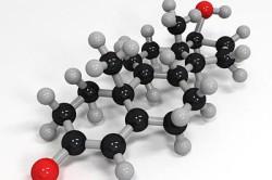 Молекулы тестостерона