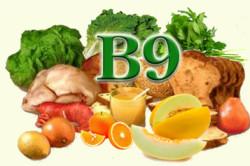 Витамин В9 = фолиевая кислота