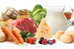 Пища с содержанием витаминов