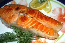 Жареная рыба