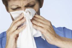 Появление пятен из-за аллергии