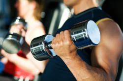 Физические нагрузки в спортзале