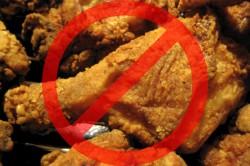 Запрет на жаренную пищу перед обследованием