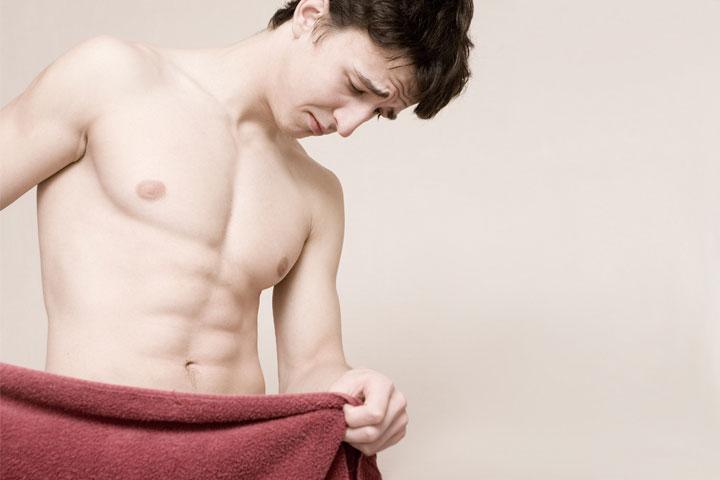 Мужчина, страдающий патологией половых органов