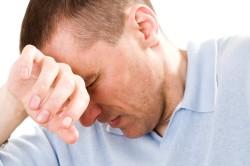 Нервозность и беспокойство у мужчины
