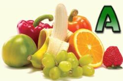 Продукты, содержащие в себе витамин А