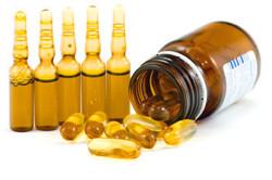 Витамин Е в таблетках и уколах