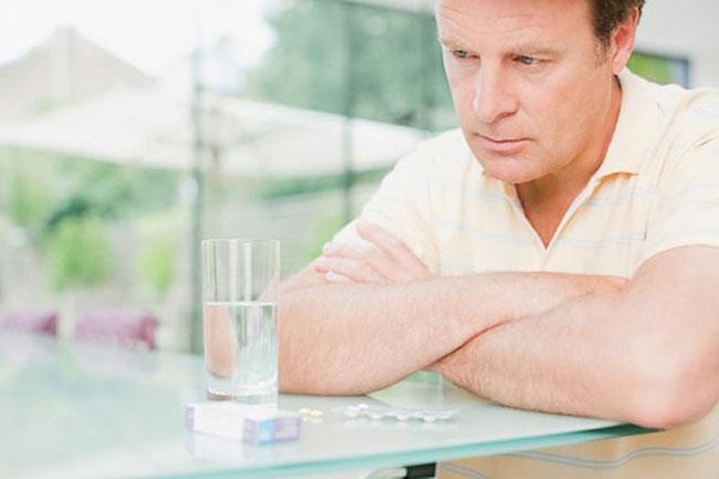 Прием таблеток при водянке