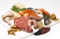 Продукты с содержанием протеина