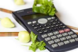 Подсчет необходимого количества калорий