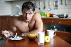 Утренний прием протеина