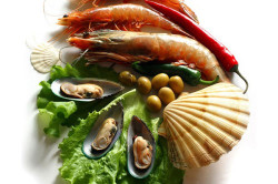 Морепродукты богаты фосфором