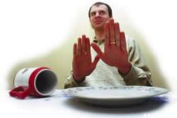 Сыпь из-за аллергии на пищевые продукты