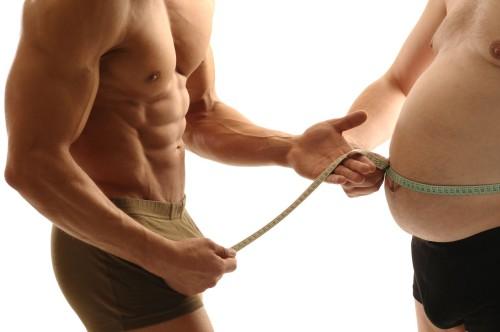 Проблема избыточного веса у мужчин