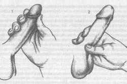 Схема мастурбации