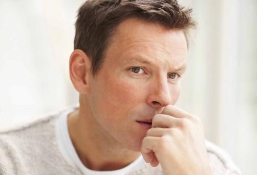 Травма уздечки у мужчины
