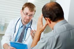 На приеме у врача эндокринолога
