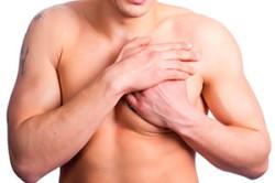 Одностороннее увеличение груди у мужчин