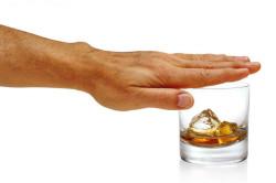 Отказ от алкоголя за несколько дней до сдачи анализа