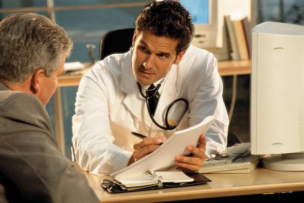 Визит к урологу или венерологу