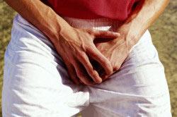 Травмирование органов мошонки