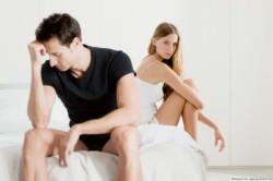 Наличие неудачного сексуального опыта