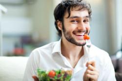 Мужчина вегетарианец