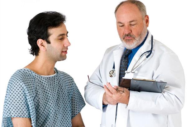 Профилактический осмотр у врача-уролога