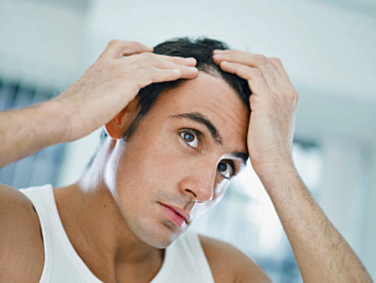 Выпадение волос у мужчины