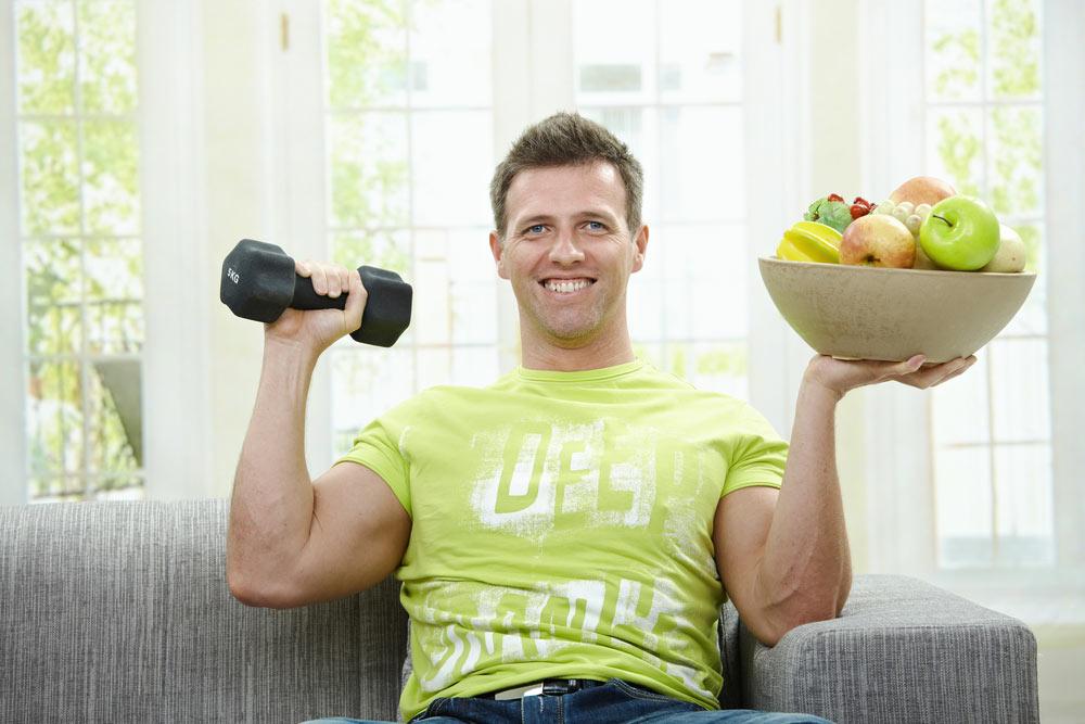 Правильное питание и занятия спортом
