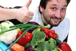 Правильное питание для мужчины - залог здорового организма