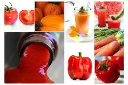 Яркие овощи и ягоды - источник натурального ликопина