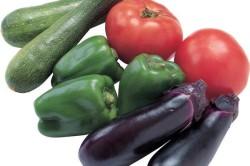 Противопоказанные продукты - перец, помидоры, огурцы